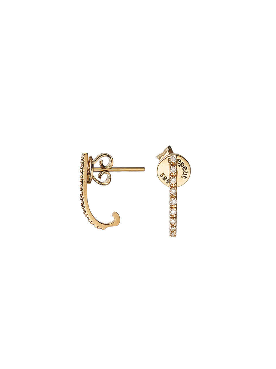 DAILY DIAMOND EARRING